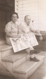 Grandma and Grandpa, 1944