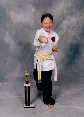 Sarah karate photo