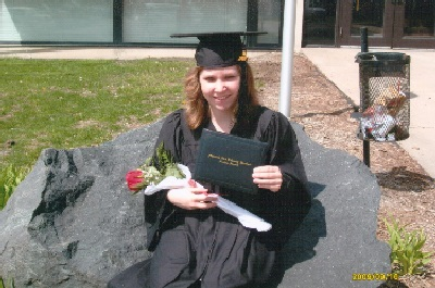 Stephanie's College Graduation