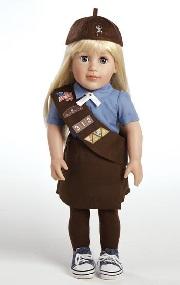 brownie doll