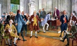 sighing of declaration of independence 2