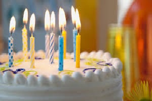 cake with candles 1