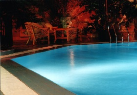 pool in evening 1