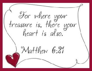 Where your treasure lies 100