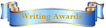 Writing Awards Banner